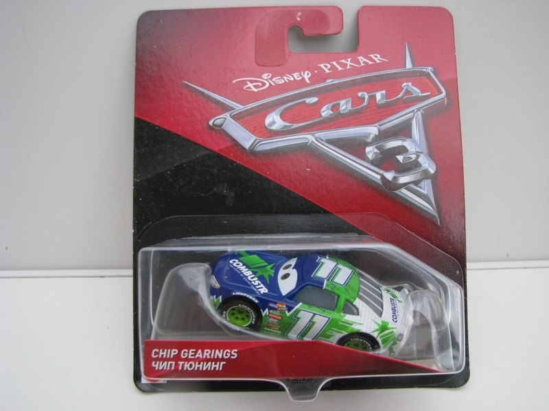 Chip Gearings autíčka Cars Disney Pixar Cars 3 DXV60